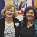 Patricia George & Phyllis Louke